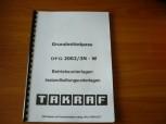 VEB DDR Gabelstapler Betriebsunterlagen Instandhaltungsunterlagen Takraf VTA Stapler DFG 2002/3N-W