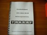 VEB DDR Gabelstapler Bedienungsanweisung Takraf VTA Stapler DFG 2002/3N-W