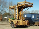 GDR VEB work platform lift lifting platform lift elevator FH 1600