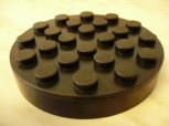lift pad, rubber pad, rubber plate for Ravaglioli lift (120mm x  25mm without pins)