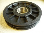 original cable pulley for Zippo 2405 Lifting Platform (for two steel ropes)
