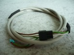 Originales 1m Kabel für Potentiometer MWH Consul Hebebühne (Anschlusskabel + Stecker und 3x Kabelschuhverbindungen)