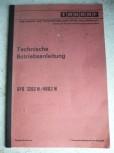 DDR Gabelstapler Technische Betriebsanleitung Takraf VTA Stapler DFG 3202 4002 N