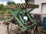 GDR VEB Takraf work Platform Lift Ramp lifting platform HT 1600