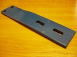 Retaining plate, rail, metal rail, metal bracket for Nussbaum lift Type 435 H
