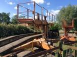 GDR VEB work platform lift lifting platform lift elevator FH 1600